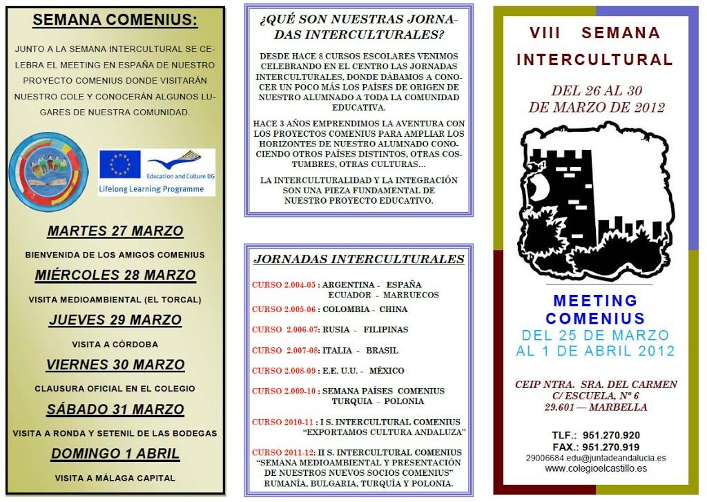 VIII Semana Intercultural