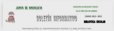 "2º Boletín Informativo para ""Profes"""